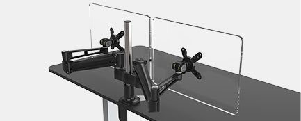 Ergo Double Monitor Arm